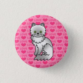 Chinchilla Persian 3 Cm Round Badge