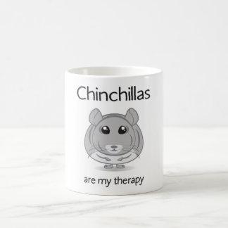 Chinchillas Are My Therapy Mug
