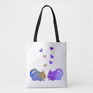 Chinchillas Tote Bag