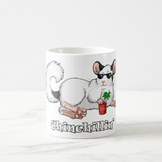 Chinchillin' 325 ml Classic White Mug