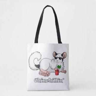 Chinchillin' All-Over-Print Tote Bag