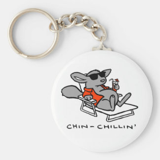 chinchillin key chain