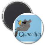 chinchillin refrigerator magnets