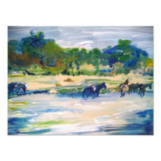 Chincoteague Ponies Painting #1 Photo Art