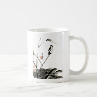 Chinese ancient watercolor paintings coffee mugs