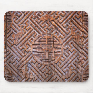 chinese ancient wood mouse pad