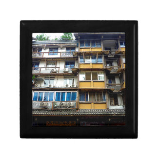 Chinese Architecture Small Square Gift Box