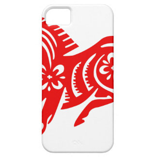 Chinese Asian Oriental Horse Barely There iPhone 5 Case