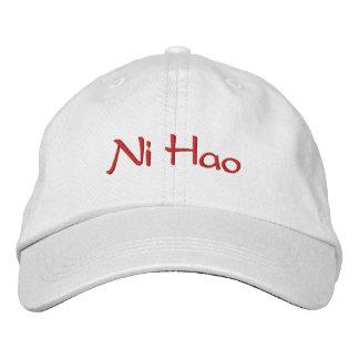 Chinese  Baseball Cap  Ni Hao