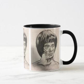 Chinese Boxer Art Sketch Mug