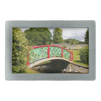Chinese bridge, gardens, Scotland Belt Buckles