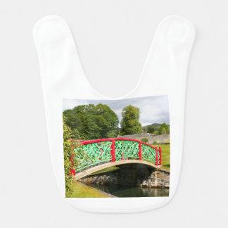 Chinese bridge, gardens, Scotland Bib