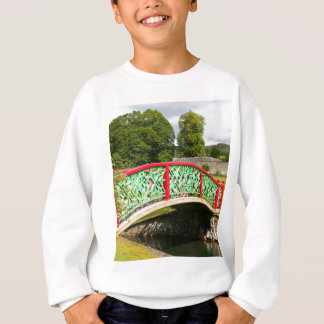 Chinese bridge, gardens, Scotland Sweatshirt