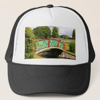Chinese bridge, gardens, Scotland Trucker Hat