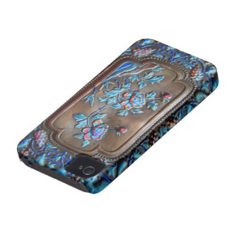 chinese bronze and enamel iphone Case-Mate iPhone 4 cases