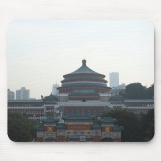 Chinese building mouse pad