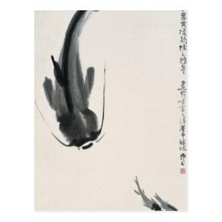 Chinese Catfish Postcard