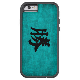 Chinese Character Painting for Success in Blue Tough Xtreme iPhone 6 Case