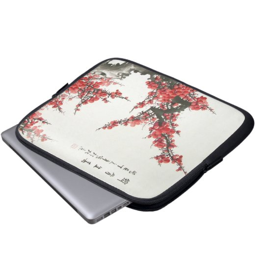Chinese Cherry Blossom Laptop Sleeve