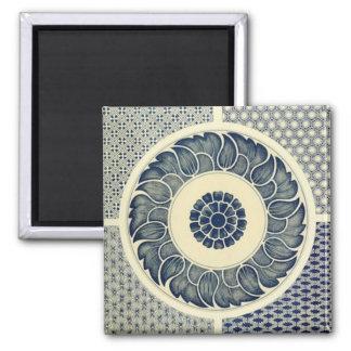 Chinese circle pattern magnet