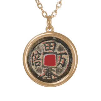 Chinese Coin Symbol Necklace