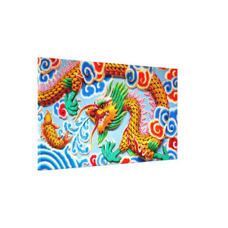 Chinese Colorful Wall Art