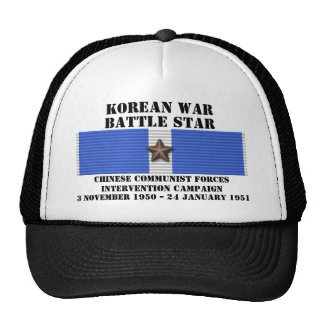 Chinese Communist Forces Intervention Campaign Hats