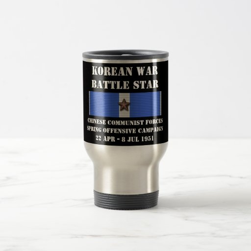 Chinese Communist Forces Spring Offensive Campaign Mugs