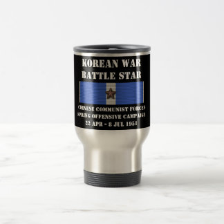 Chinese Communist Forces Spring Offensive Campaign Travel Mug