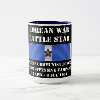 Chinese Communist Forces Spring Offensive Campaign Two-Tone Mug