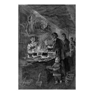 Chinese Cooking San Francisco 1900 Print