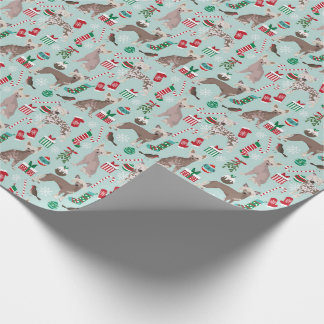 Chinese Crested Christmas Wrapping Paper