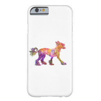 Chinese crested dog 01 in watercolor 2 barely there iPhone 6 case