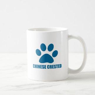 CHINESE CRESTED DOG DESIGNS COFFEE MUG
