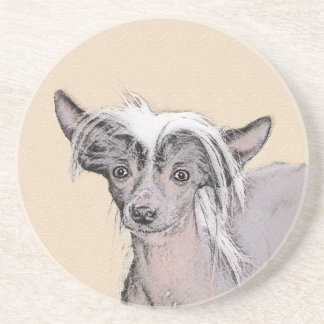Chinese Crested (Hairless) 2 Coaster