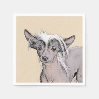 Chinese Crested (Hairless) 2 Paper Napkin