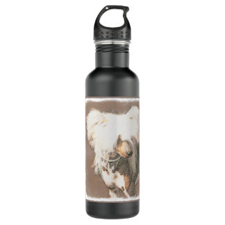 Chinese Crested (Hairless) 710 Ml Water Bottle
