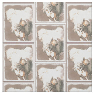 Chinese Crested (Hairless) Fabric
