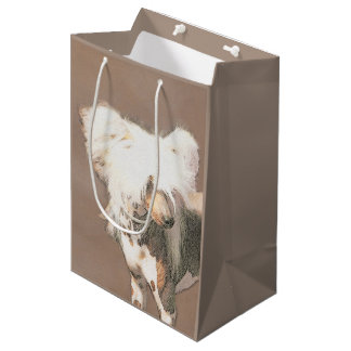 Chinese Crested (Hairless) Medium Gift Bag