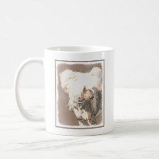 Chinese Crested Hairless Painting Original Dog Art Coffee Mug