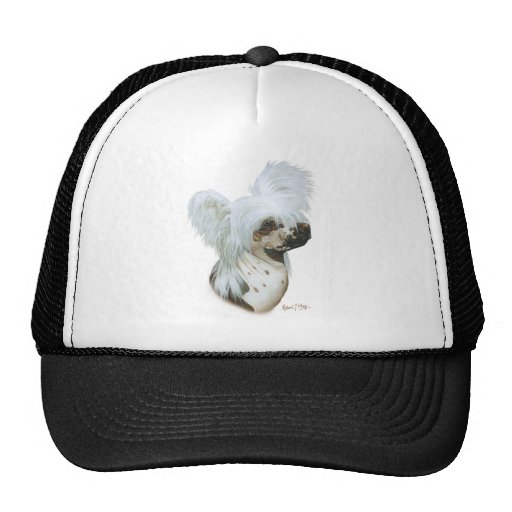 Chinese Crested Trucker Hats
