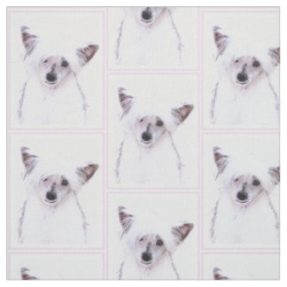 Chinese Crested (Powderpuff) Fabric