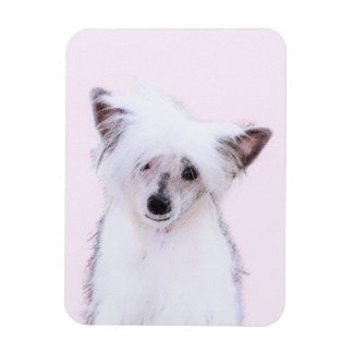 Chinese Crested (Powderpuff) Magnet