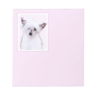 Chinese Crested (Powderpuff) Notepad