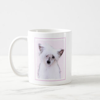 Chinese Crested Powderpuff Painting - Dog Art Coffee Mug