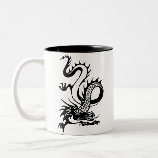 Chinese Dragon (13) Two-Tone Mug