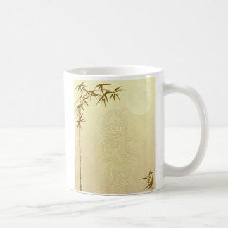 Chinese Dragon and Bamboo Mug