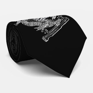 Chinese Dragon and Qin Tie