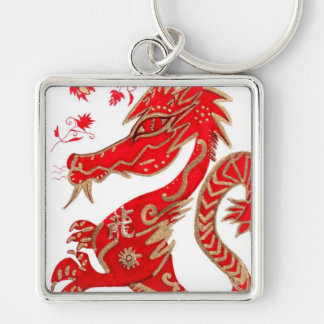Chinese Dragon Astrology Keychain