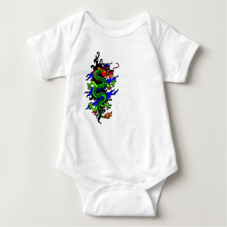 Chinese dragon baby suit baby bodysuit